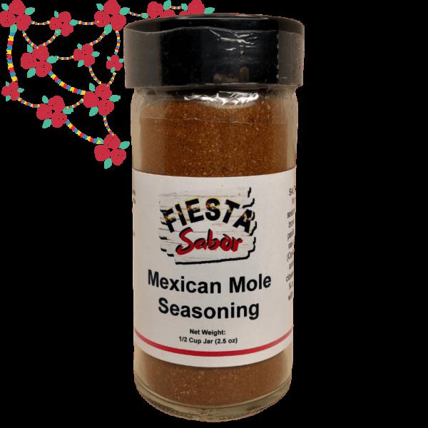 1 Mexican Mole Seasoning-1_2 Cup Jar 2.5 oz-2