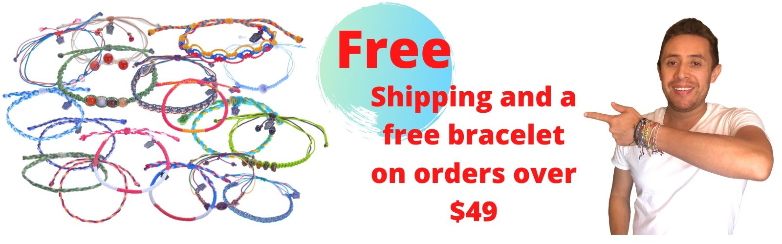 Fiesta Sabor Free Shipping and a Free Bracelet on Orders over $49